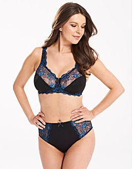 2 Pack Ella NonWired Cobalt/Black Bras