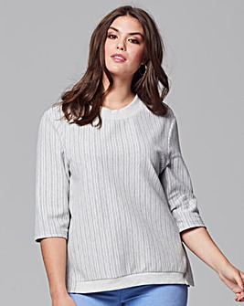 Junarose Textured Rib Top