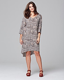 Junarose Dipped Back Dress