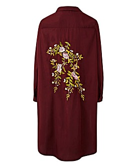 AX Paris Embroidered Detail Tunic