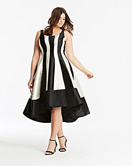 Coast Aria Mono Dramatic Dress
