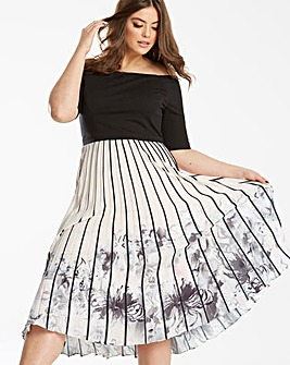 Coast Mirabeau Pleated Dress