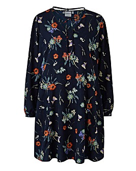 Junarose Floral Printed Dress