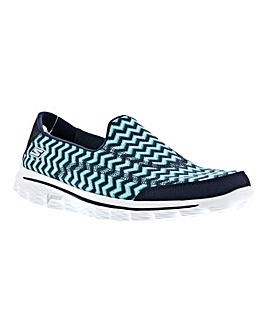 Skechers Go Walk 2 Chevron Pumps