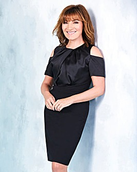 Lorraine Kelly Cold Shoulder Dress