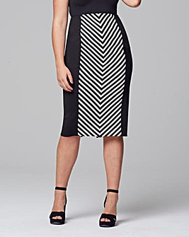 Scarlett & Jo Mon Striped Skirt