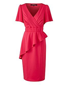Scarlett & Jo Wrap Bodycon Dress