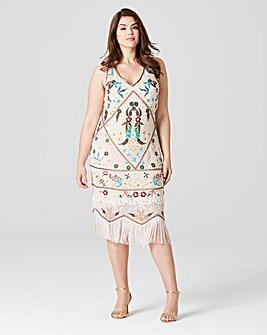 Frock & Frill Tassel Dress