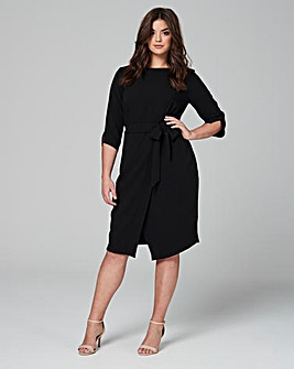 CLOSET WRAP FRONT DRESS
