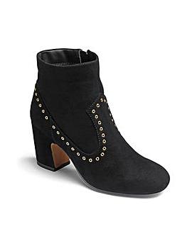 Sole Diva Block Heel Boots EEE Fit