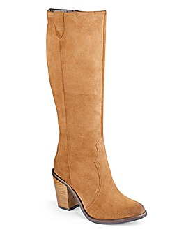 Sole Diva High Leg Cowboy Boots EEE Fit