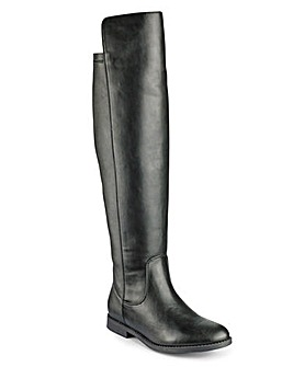 Sole Diva Boots Extra Curvy Plus EEE Fit