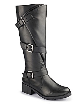 Joe Browns Buckle Boots Super Curvy E
