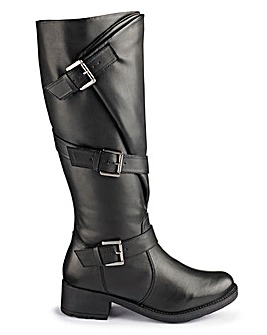 Joe Browns Buckle Boots Super Curvy EEE