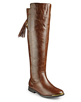 Sole Diva Riding Boots Curvy E Fit
