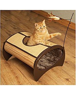 Natural Bamboo Cat Pod