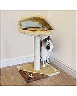 Athens Cat Scratcher Brown/Beige