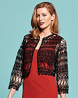 Simply Be Crochet Jacket