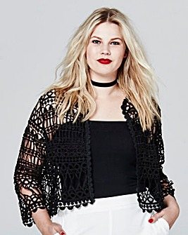 Simply Be Crochet Jacket
