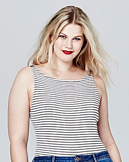 Simply Be Stripe Rib Body