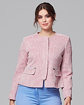 Helene Berman Zip Front Jacket