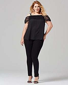 Grazia Cold Shoulder Blouse