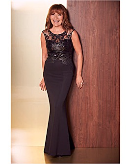 LORRAINE KELLY DETAIL MAXI DRESS