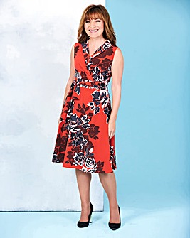 Lorraine Kelly Wraparound Tie Dress