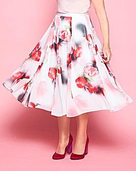 Lorraine Kelly Floral Chiffon Skirt