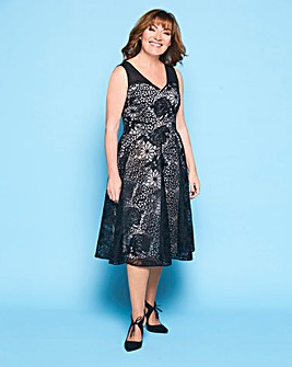 Lorraine Kelly Floral Organza Dress