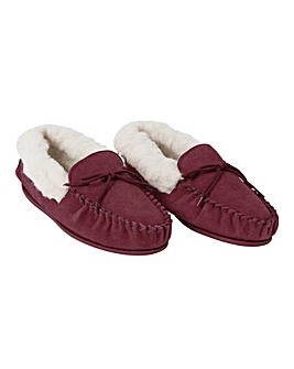 Womens Moccasins Hard Sole