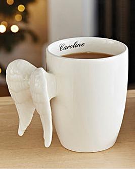 Angel Wings Mug Personalised