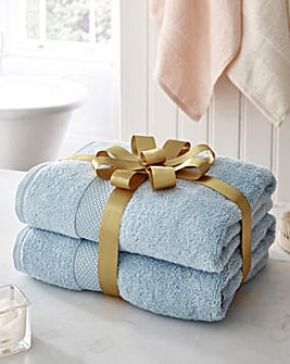Sky Super Dry Bath Towel Pack of 2
