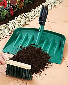 Jumbo Pan and Hard Brush