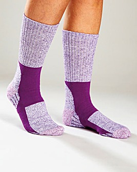 Ladies Walking Socks Pack 4