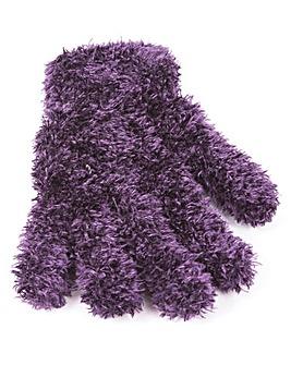 Fluffy Gloves Pack of 2