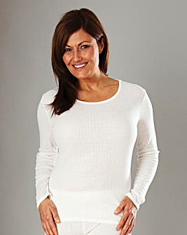 Ladies Tradtional Thermal Top Pk 2