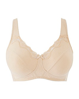 Sarah Non Wired Natural Bra