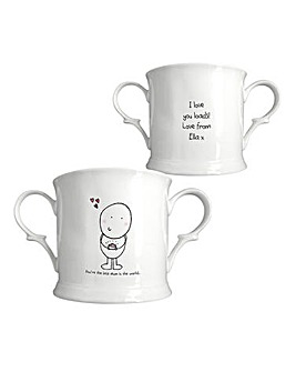 Chilli & Bubbles Personalised Loving Cup
