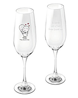 Chilli & Bubbles Personalised Flute