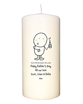 Chilli & Bubbles Personalised Candle