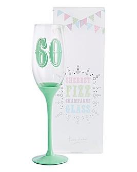 Happy Birthday Champagne Flute