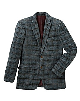 Mish Mash Battle Wool Mix Check Blazer