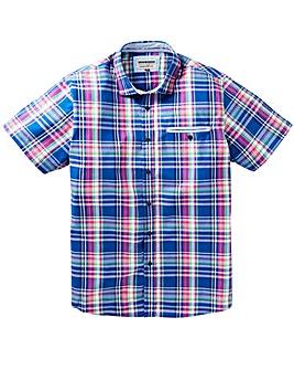 Mish Mash Paine Madras Shirt Reg