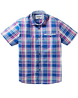 Mish Mash Paine Madras Shirt Long