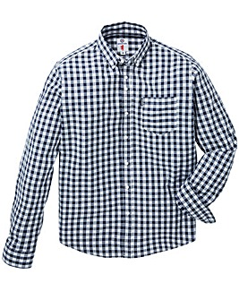 Lambretta Gingham Check LS Shirt Long