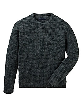 Farah Jeans Hindlow Textured Crew Jumper