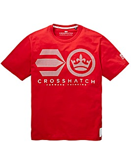 Crosshatch Crossout T-Shirt