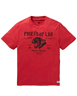 Firetrap HONGO T-Shirt Long