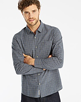 Original Penguin Heather Plaid Shirt